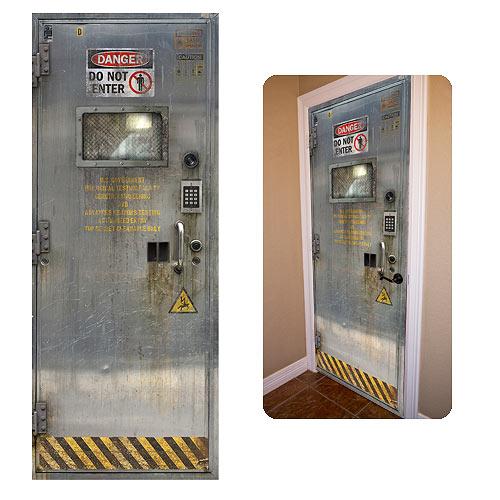 Laboratory DoorJamz Vinyl Door Wall Sticker