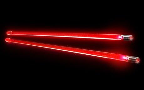 Light-Up Drumsticks Red