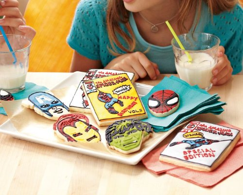 Marvel Comics Hero Cookie Cutters