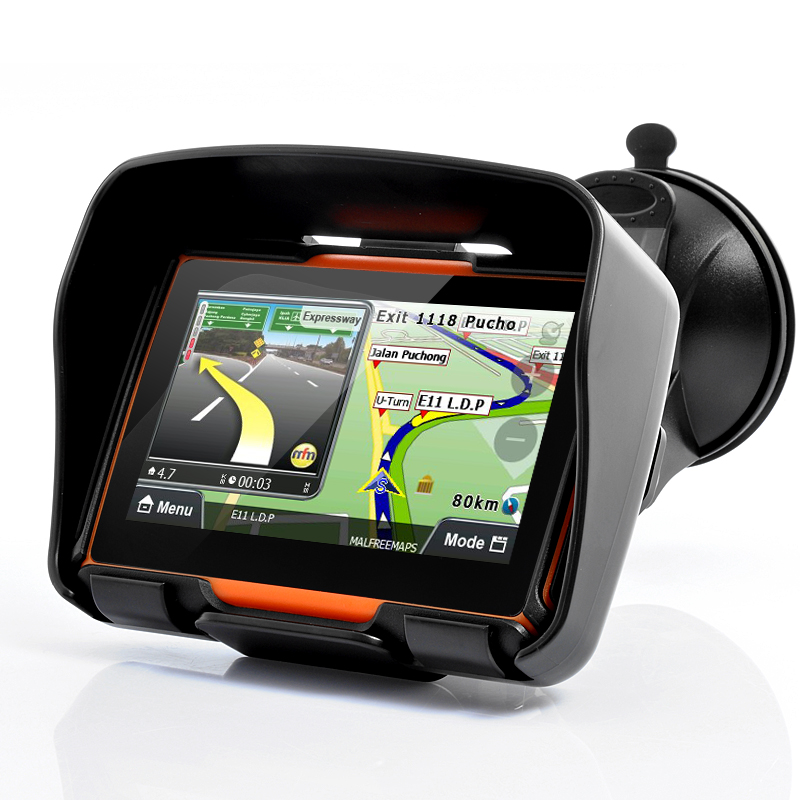 Motorcycle Navigation Systems : All terrain inch motorcycle gps navigation system