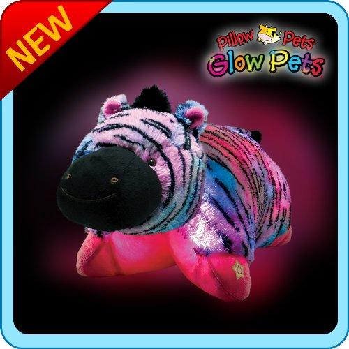 Pillow Pets Glow Pets - Zebra 12