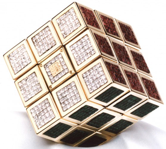 Most Expensive Rubik's Cube in the World