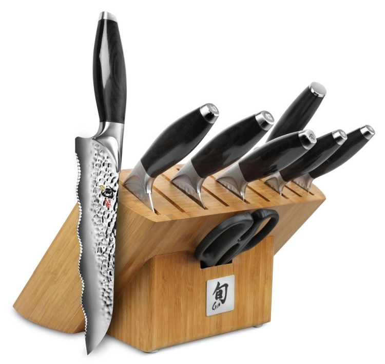 Shun Edo Piece Knife Block Set