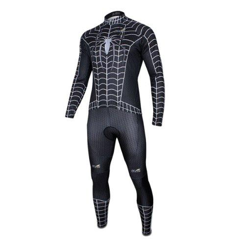 Spiderman Costume long-Sleeve Biking Cycling Jersey
