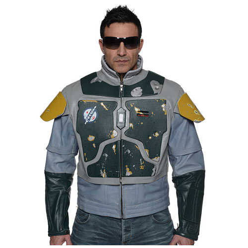 Star Wars Boba Fett Leather Street Jacket Replica