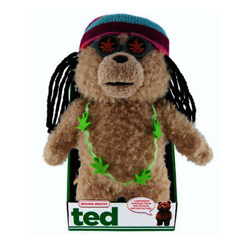 Ted Rastafarian 16-Inch Talking Plush Teddy Bear