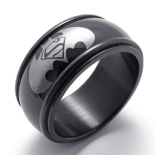 The Batman&superman Symbol Rings