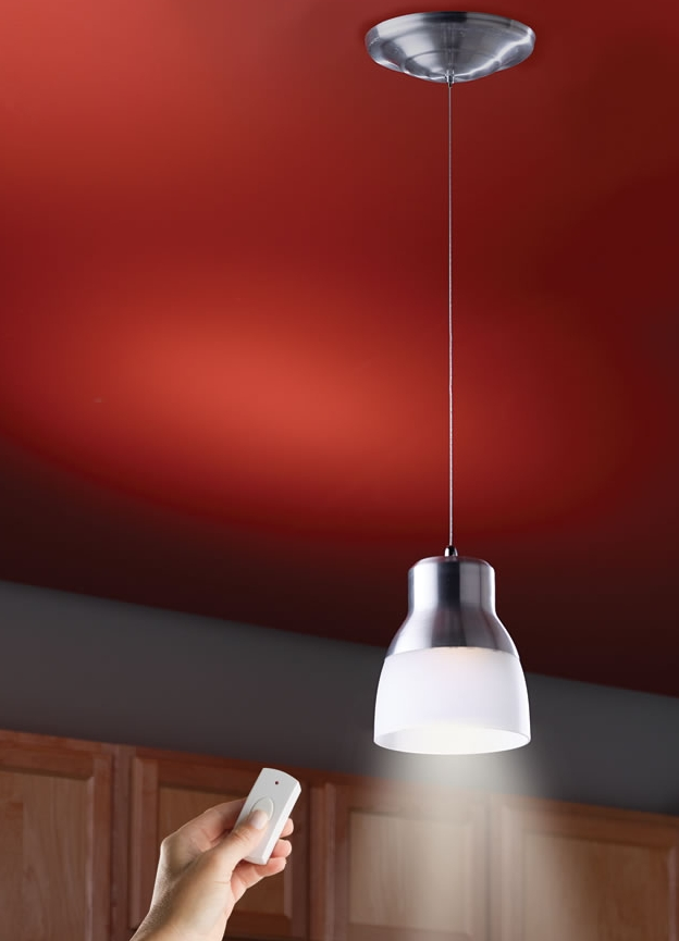 The Battery Powered LED Pendant Light