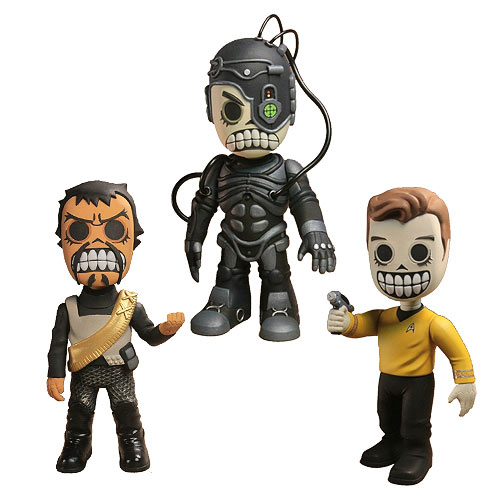Star Trek Skele Treks Series 1 Vinyl Figure Set