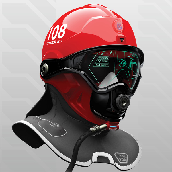 C-Thru helmet