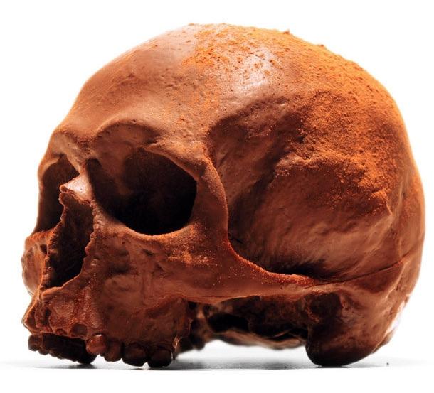Chocolate Skulls