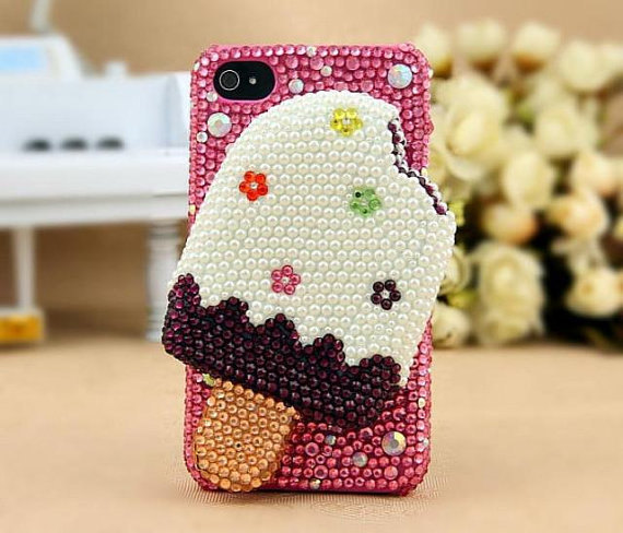 3D Icecream Iphone 5 case