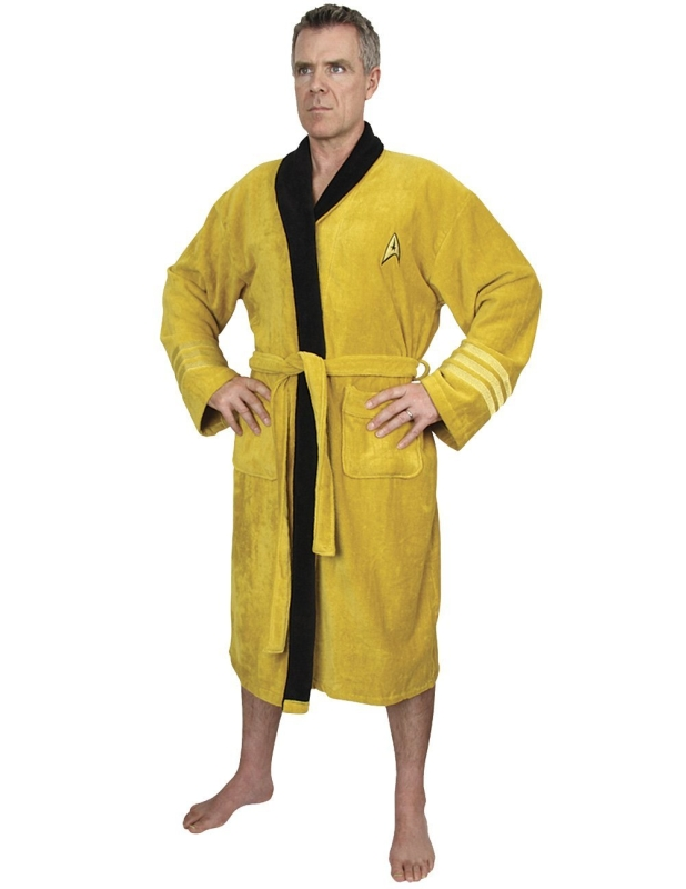 Star Trek Bathrobe Captain James T. Kirk