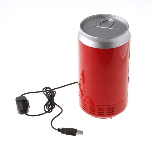 Mini USB PC Fridge Beverage Drink Cans Cooler & Warmer