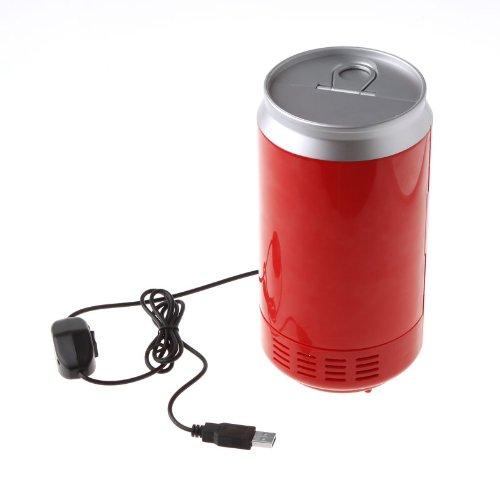 Mini USB PC Fridge Beverage Drink Cans Cooler & Warmer