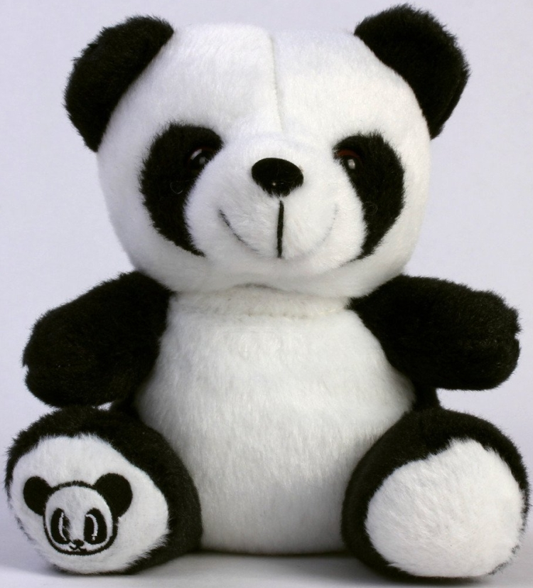 Panda Toy Cell Phone Case for iPhone 5 5G