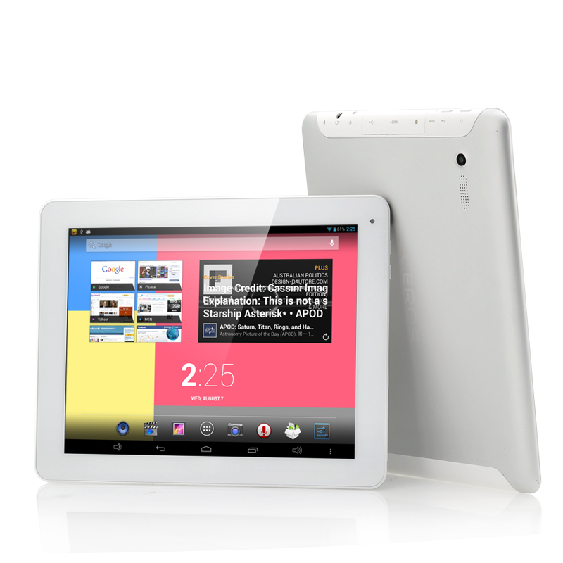 "Quad Core Android 4.2 Retina Screen Tablet ""Ceros Revolution"""