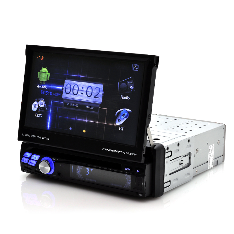 "7 Inch Screen Android Car DVD Player ""Narcissist"""