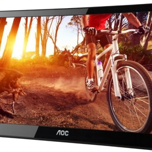 AOC Powered Portable LCD Monitor