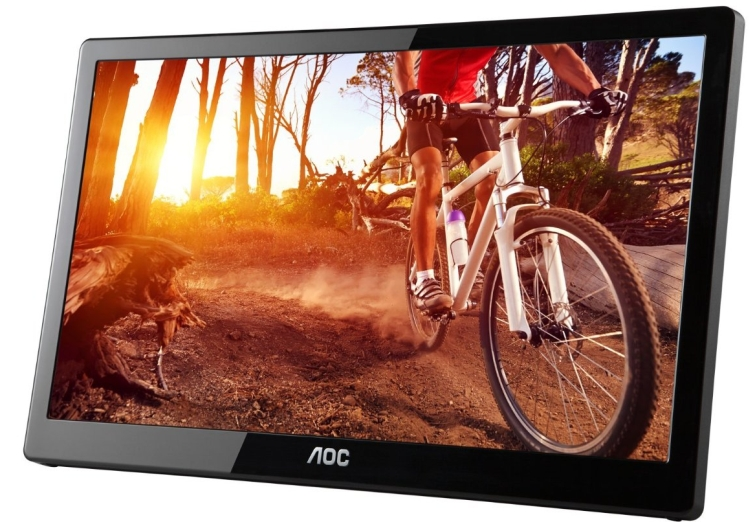 AOC Powered Portable LCD Monitor