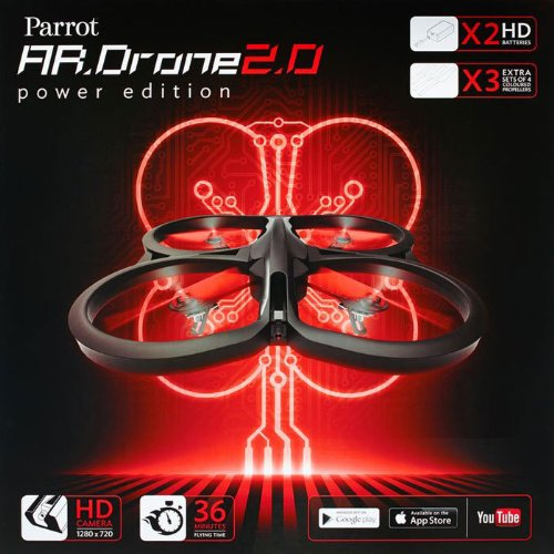 AR Drone 20 Quadricopter Power Edition
