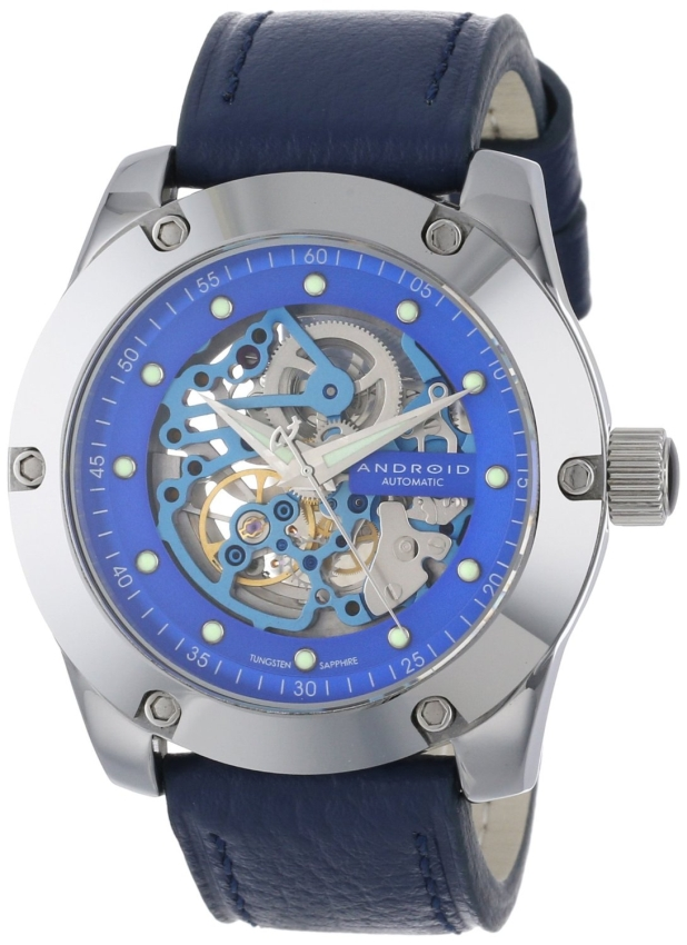 Android Men's Antigravity Tungsten Skeleton Watch