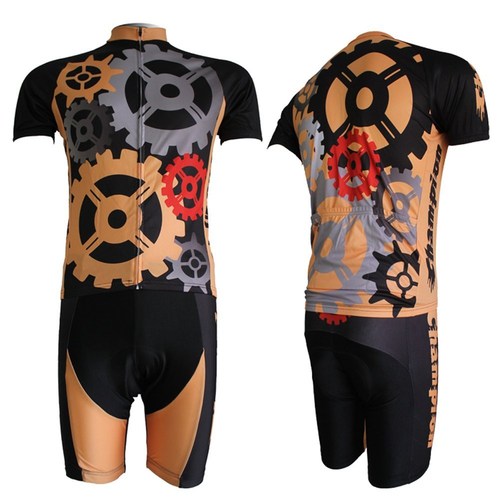 Baleaf Mens Short Sleeve Cycling Jersey Gear Style