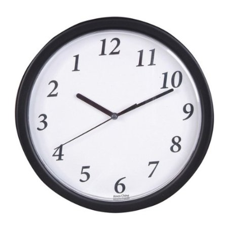 Bulk Buys 9 in. Backward Clock
