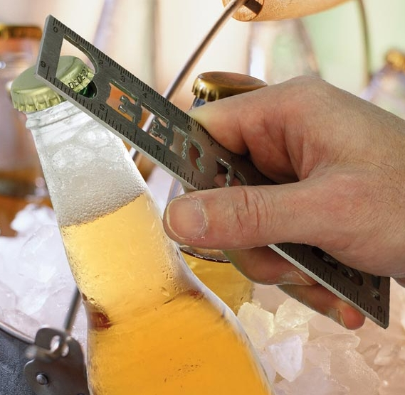 Beer Rules Bottle Opener