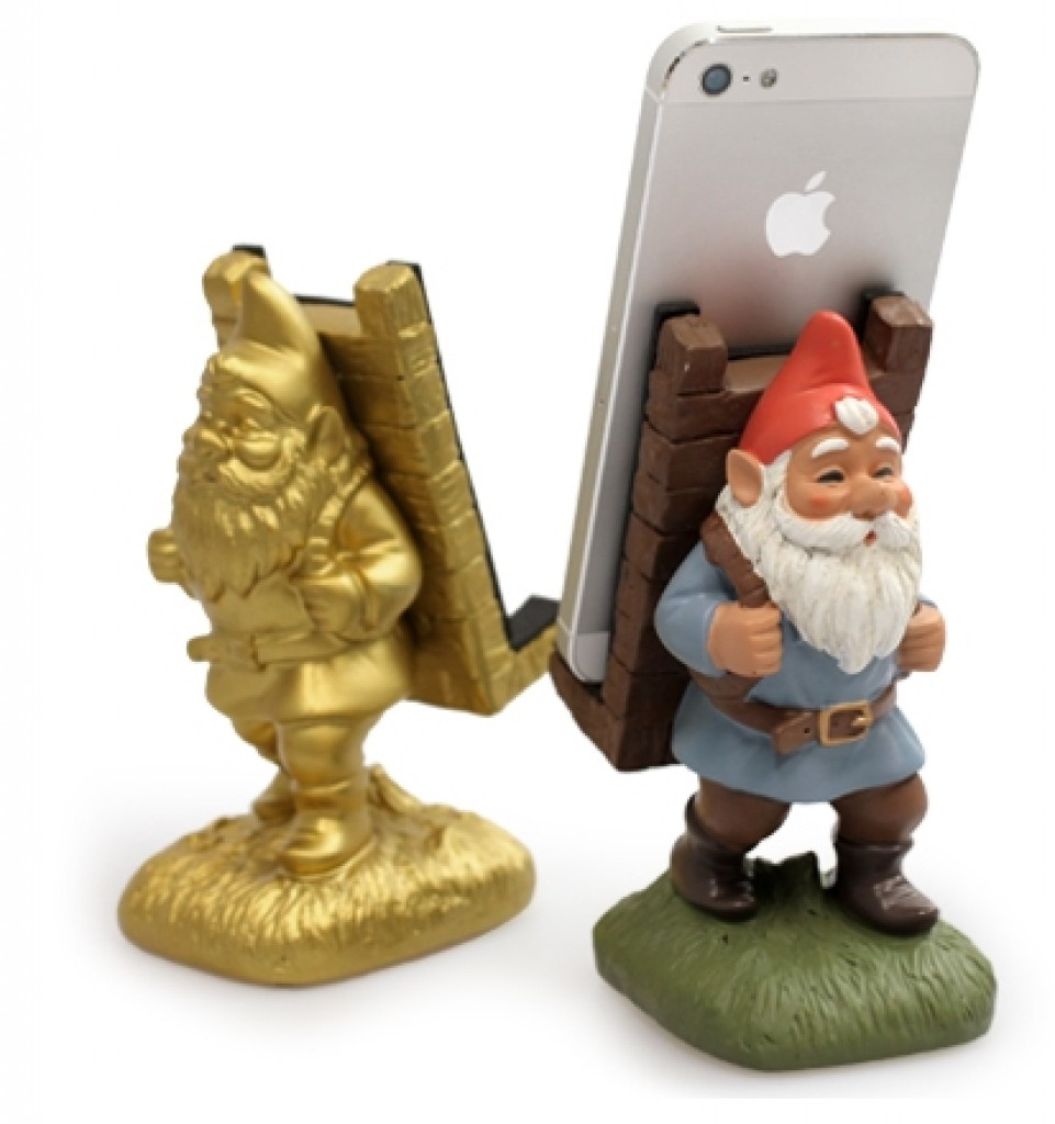 Motif. Cute Dwarf Characters Smartphone Stand