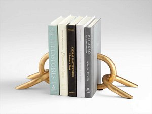 Cyan Lighting Bookend