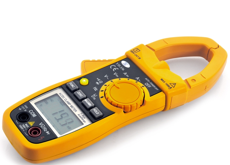 DC AC Clamp Meter Multimeter