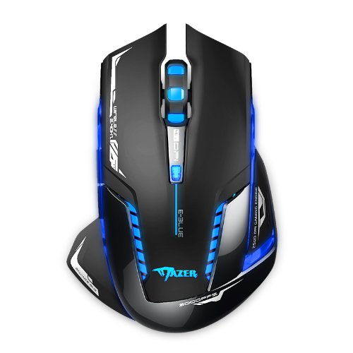 DPI Blue LED 2.4GHz Wireless Optical Gaming Mouse