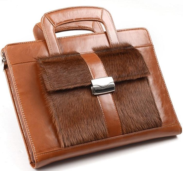 Genuine Leather Padfolio for iPad Mini