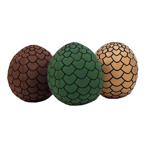 Game of Thrones Dragon Egg Plush Set