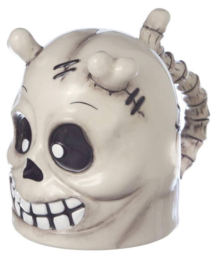 Gothic Topsy Turvy ceramic Mug