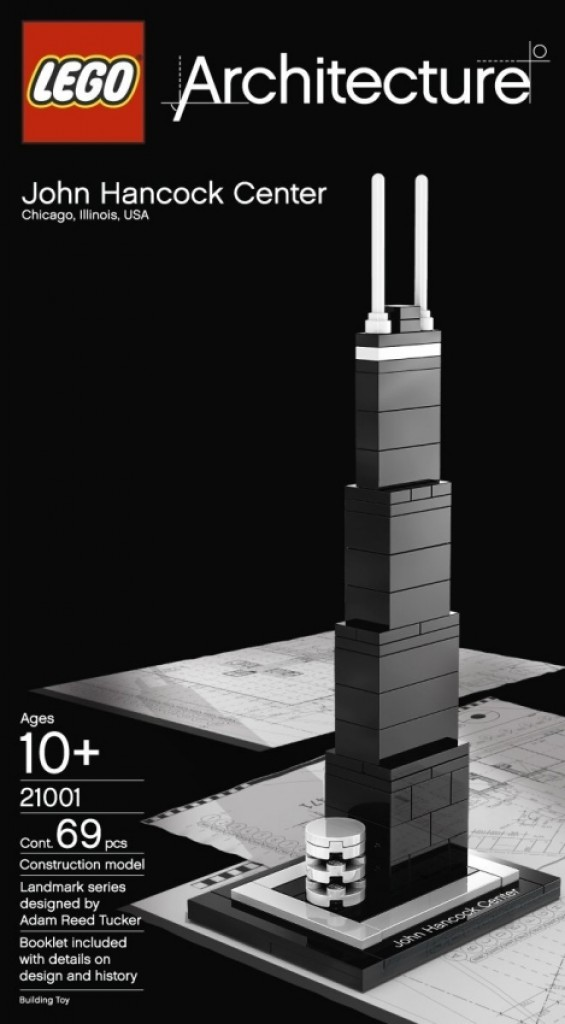 Lego Architecture John Hancock Center Gadgets Matrix