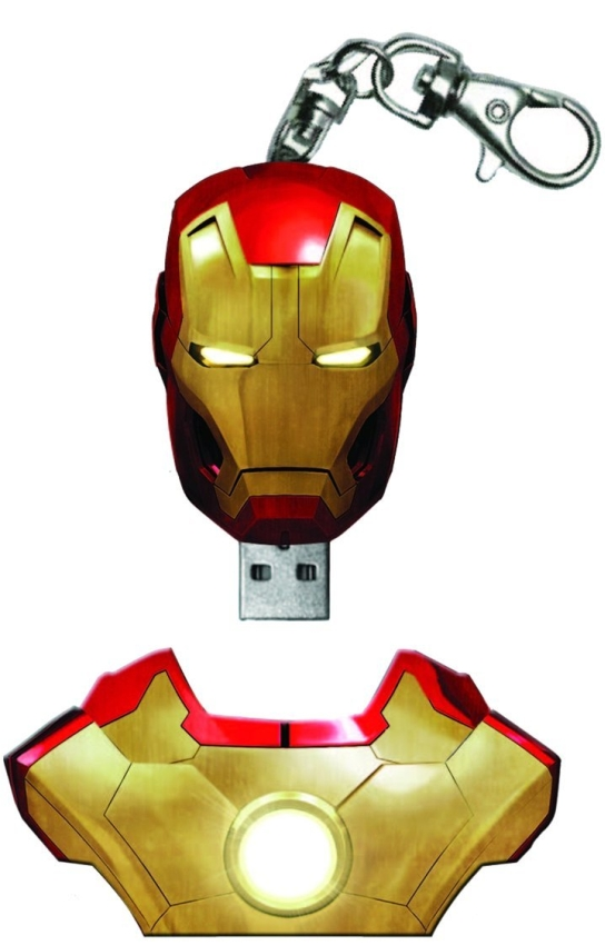 Marvel Iron Man 3  4GB USB Flash Drive