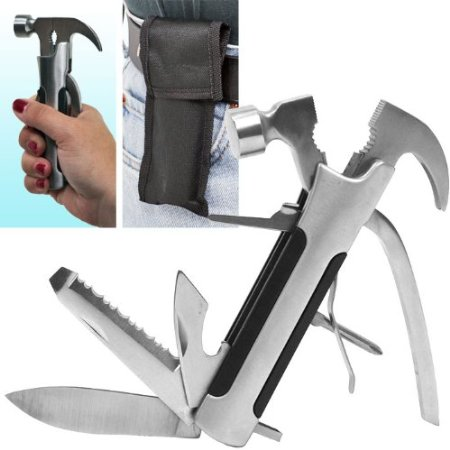 Multi-Function 8 in 1 Camping Tool Whetstone