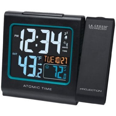 La Crosse Technology Projection Alarm W/Color Display