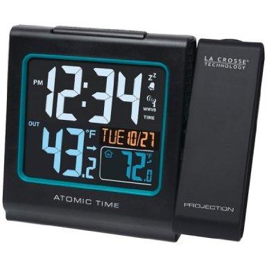 La Crosse Technology Projection Alarm W/Color Display