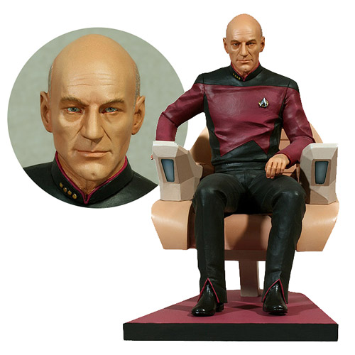 Star Trek The Next Generation Picard 1:6 Scale Statue