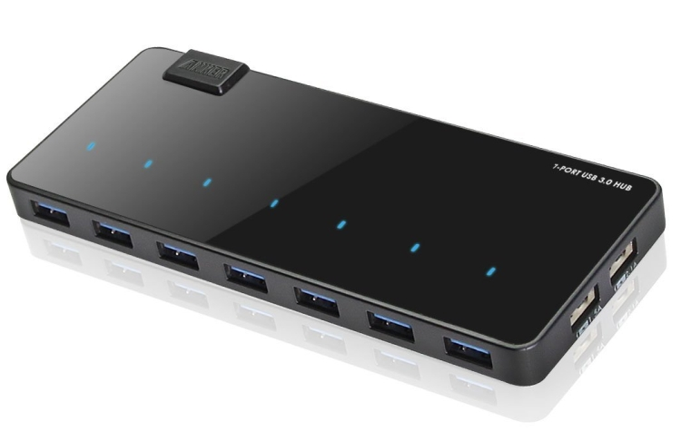 Uspeed USB 3.0 7 Port Hub 2 Charge