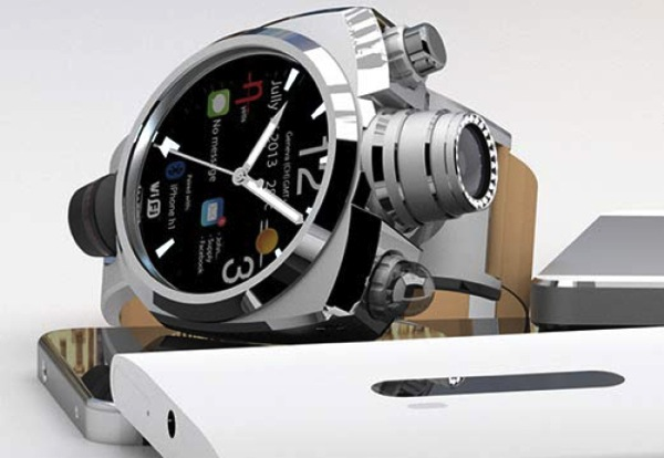Smartwatch with 41 megapixel camera