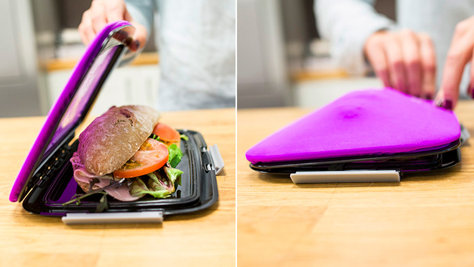 This Flat Flexible Lunch Bag