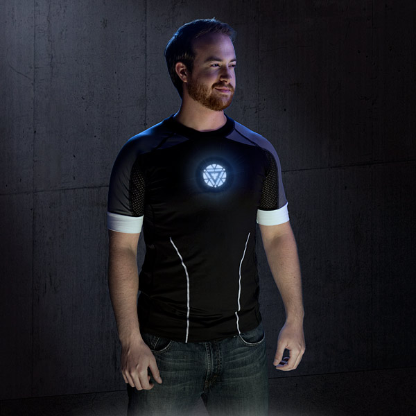 Iron Man 3 Light-Up LED Shirt