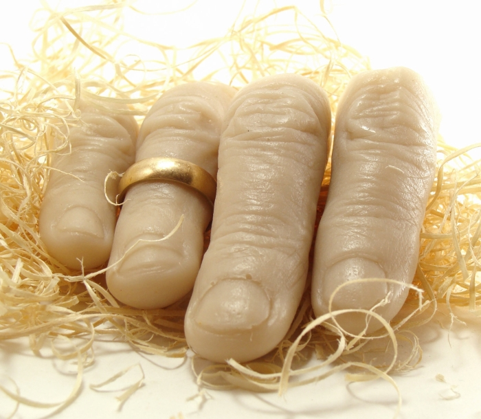 Creepy Finger Soap Gag