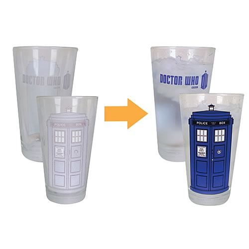 Doctor Who Glass Set of 4