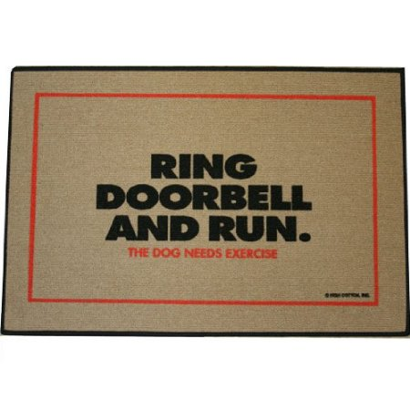 Dog Needs Exercise Doormat