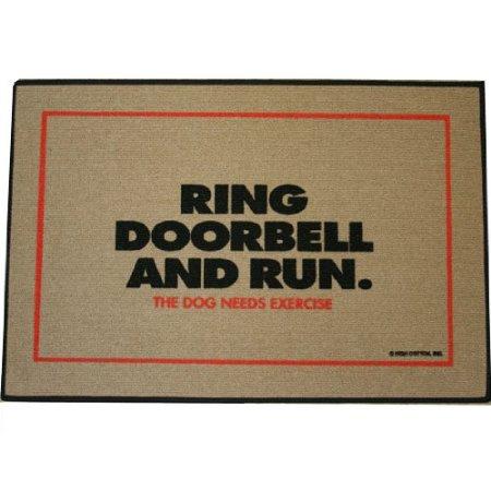 Dog Needs Exercise Doormat